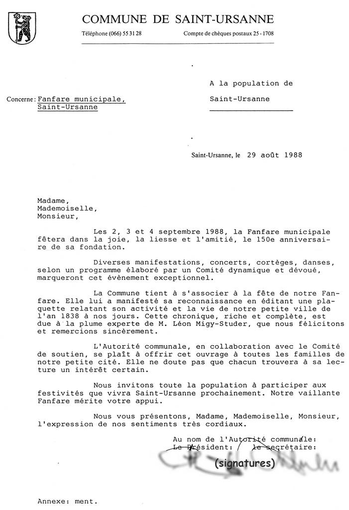 lettre de demission suisse